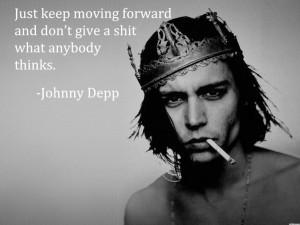 HD Johnny Depp Love Quotes Wallpaper