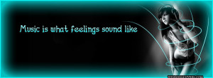 listening to neon blue music : I love music quote timeline cover