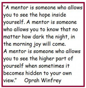 Quotes About Mentoring Youth