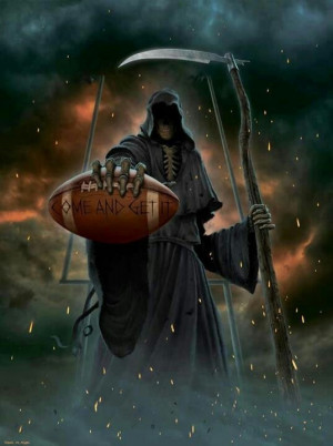 The Grim Reaper Horsemen Death