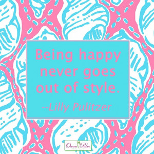 Lilly Pulitzer quote perfect for a canvas for my little