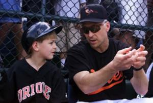 Cal Ripken Jr. and son Ryan Ripken