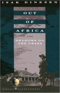 Out of Africa and Shadows...