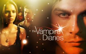 Stefan, Elena and Damon