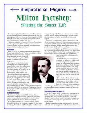 milton hershey biography