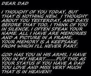Remembering Dad September 11, 1948 - April 14, 2000