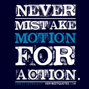 picture quotes about action and motion