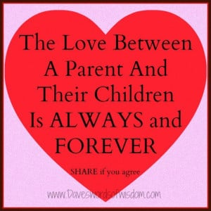 Quotes About Children And Parents Love