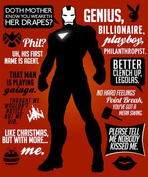 quotes robert downey jr iron man tony stark The Avengers