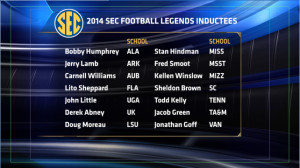 Jerry Lamb included in 2014 SEC Football Legends Class