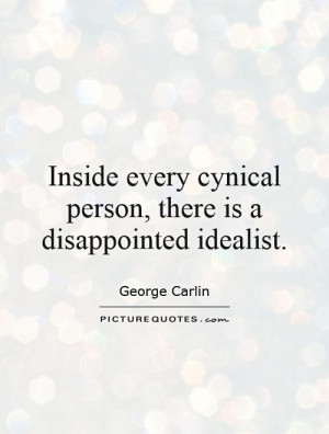 Cynical Quotes George Carlin Quotes