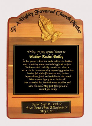 TA2507 Memorial Plaque inside Grimsby Baptist Church