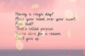 Myspace Graphics > Life Quotes > having a rough day Graphic