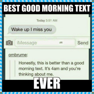 Sweet Good Morning Texts for Her