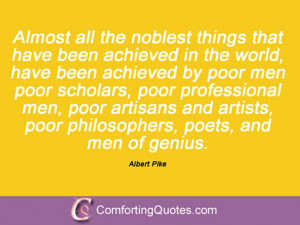 Quotes By Albert Pike