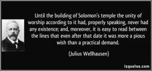 More Julius Wellhausen Quotes