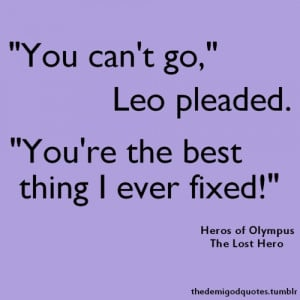 Leo Valdez Quotes