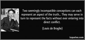 More Louis de Broglie Quotes