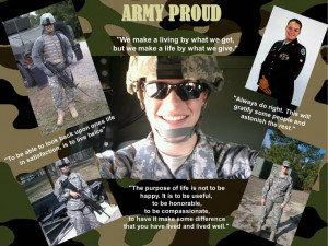 made this collage for my daughters deployment. Every quote describes ...