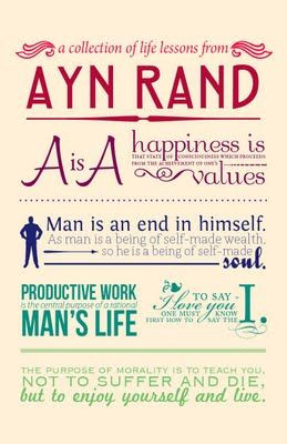 objectivism in a page. #aynrand