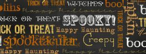 Halloween Sayings Facebook Cover
