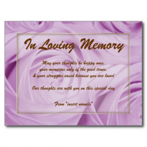 Loving Memory Quotes
