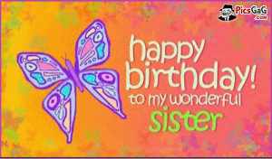 Funny Happy Birthday Quotes for Sister