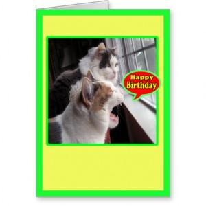 Funny Birthday Card Happy...