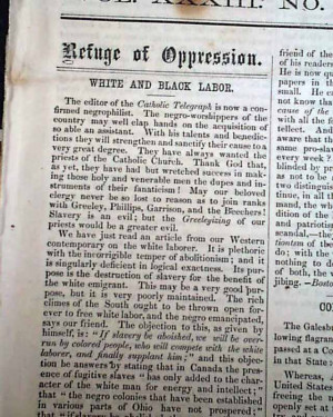 abolitionist arguments against slavery