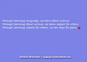 Language Quotes Quoteslearn languages / learn