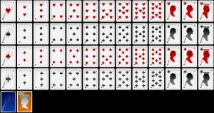 Ace Clubs Card Aufkleber Poker