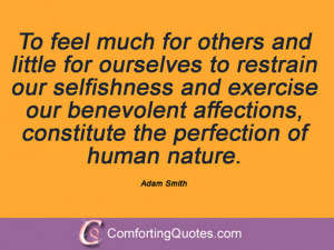 Adam Smith Famous Quotes