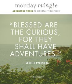 ... & Road Trip Inspiration + Playlist Quote from Lovelle Drachman More