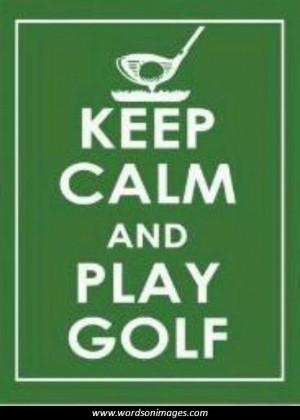 Motivational quotes golf