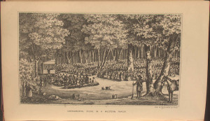 Sacramental Scene in a Western Forest,