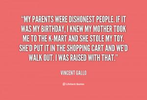 dishonest people