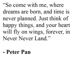 Peter Pan Quotes Book picture