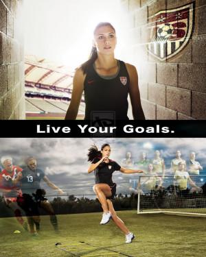 Alex Morgan Soccer Wallpaper