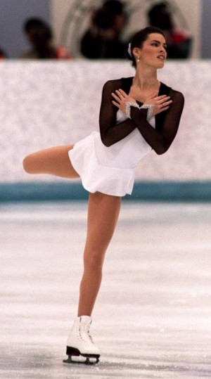 Nancy Kerrigan Legs