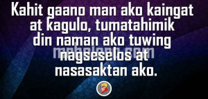 Kahit All About Tagalog Quotes