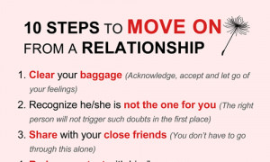 how to leave a relationship in the past