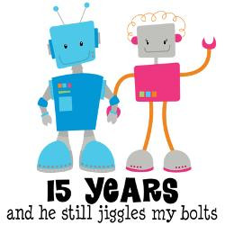 15_year_anniversary_robot_couple_greeting_card.jpg?height=250&width ...