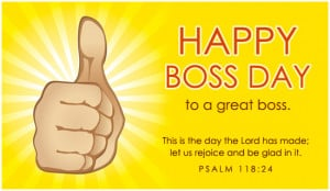 Happy Boss Day Ecard