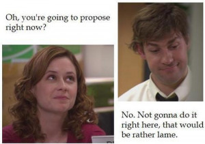 The Office Jim & Pam (Chair Lady) #2