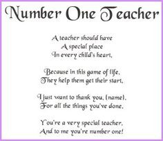 Miss You Teacher Poems | Best teacher poems This is your index.html ...