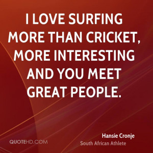 Hansie Cronje Quotes