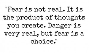 Fear Quote From