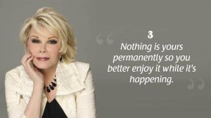 Joan Rivers Quotes to Live By