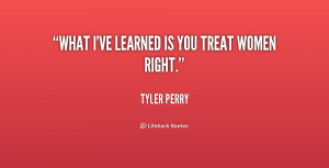 quotes about treating women right