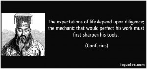 The expectations of life depend upon diligence; the mechanic that ...